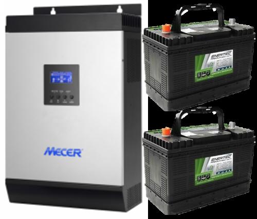 Mecer Axpert 2x100Ah Batteries